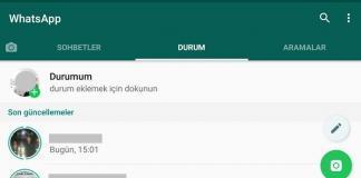 WhatsApp hikayeleri indirme