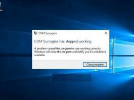 windows-10-com-surrogate-calismayi-durdurdu