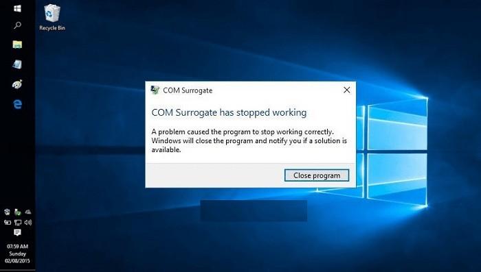 COM Surrogate Çalışmayı Durdurdu Hatası Çözüm Yolları