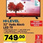 A101 Hi-Level 32 inç LED TV