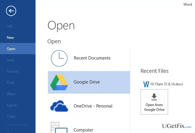 how to search google drive on windows