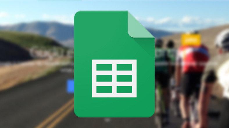 Google E-Tablolar