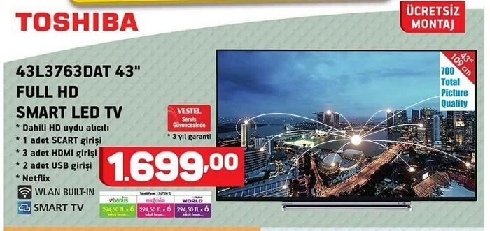 Toshiba 43L3763DAT