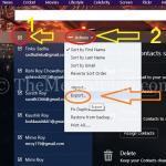 Yahoo Mail Kişileri Dışa Aktarma
