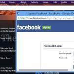 Facebook oturum açma
