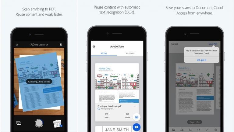 Akıllı Telefonlarda Adobe Scan ile Belgeleri Tarama ve Gönderme