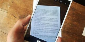 Android ile Dokümanları Tarama
