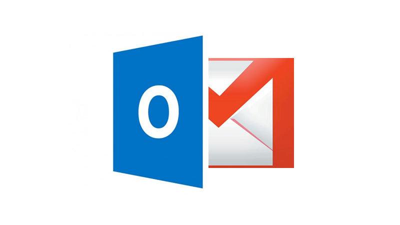 Outlook mailleri gmaile aktarma