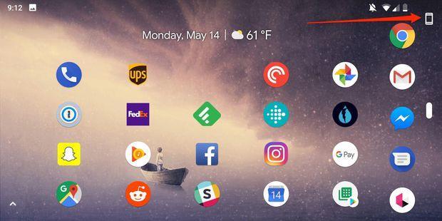 Android P Ekran Döndürme