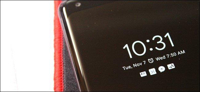 Android P Kilitli Ekran Özellikleri