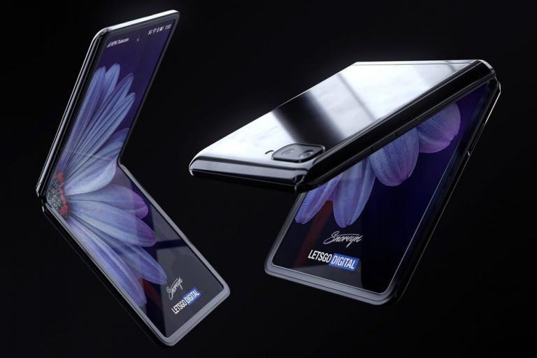 Samsung Galaxy Z Flip'in Yeni Görüntüleri