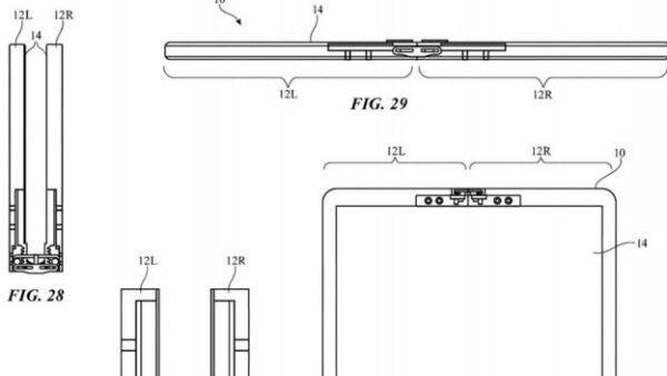 Apple katlanabilir ekran patenti