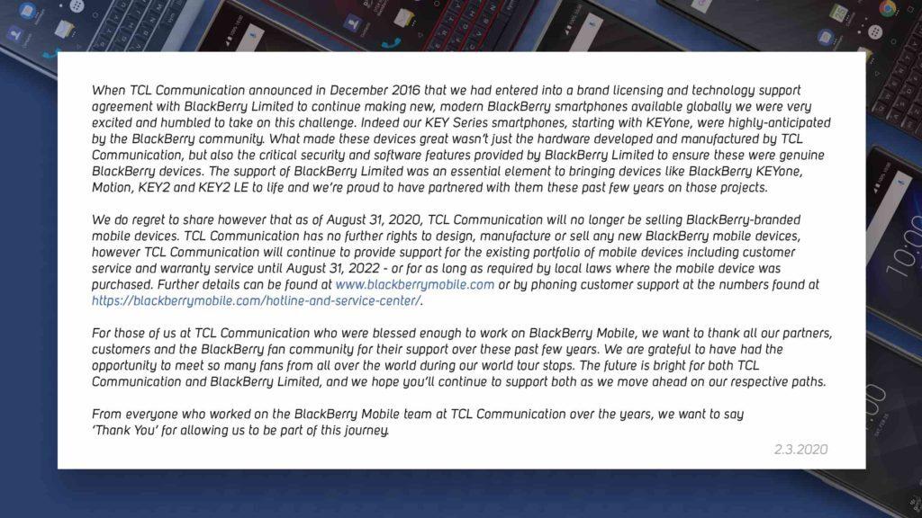 BlackBerry Açıklama