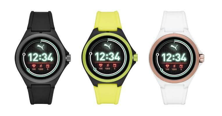 Puma Sport Connected smartwatch renkler