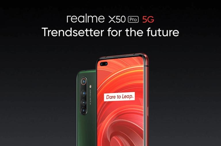 Realme X50 Pro 5G Piyasaya Sürüldü!