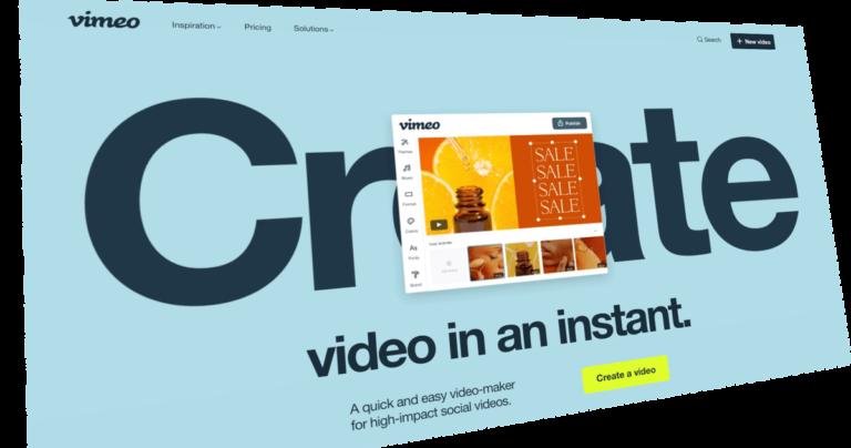 Vimeo'nun Yeni Create Uygulaması Çıktı!