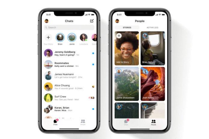iOS yeni Facebook Messenger uygulaması