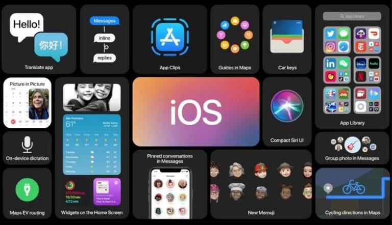 Apple iOS 14 ve Yeni iPhone özellikleri